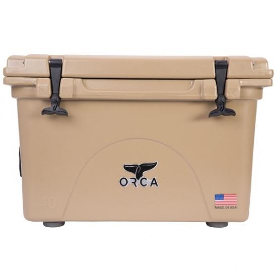 ORCA/オルカ Tan 40Quart Cooler 【日本正規品】