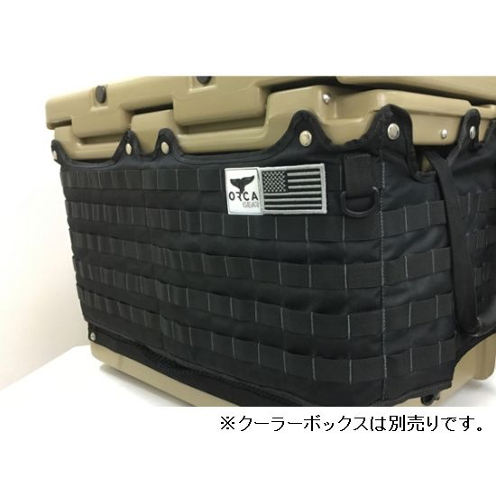 正規 ORCA/オルカ Gear Gear 26 Quart Molle Wrap Black Molle ORCA/オルカ【日本正規品】, 清和村:c283505e --- business.personalco5.dominiotemporario.com