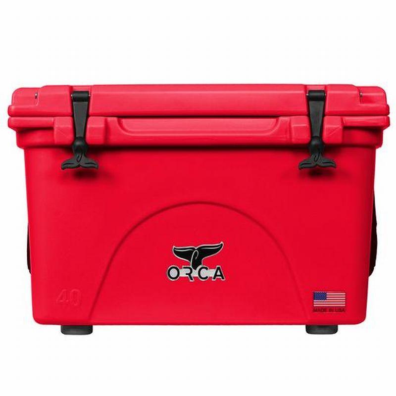 ORCA/オルカ Coolers 40 Quart Red 【日本正規品】