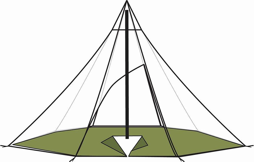 HELSPORT/ヘルスポート Varanger Dome Floor/バランゲル専用 フロアー【4-6人用】