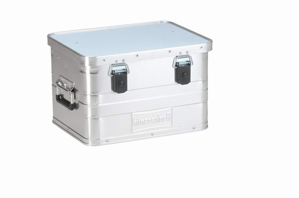 HUNERSDORFF/ヒューナースドルフ Metal army Box/メタルアーミーボックス 50L
