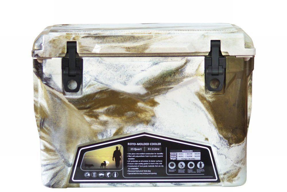 Iceland Cooler Box/アイスランドクーラーボックス デザートカモ 35qt/33.1L 【日本正規品】