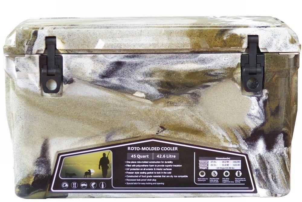 Iceland Cooler Box/アイスランドクーラーボックス デザートカモ 45qt/42.6L 【日本正規品】