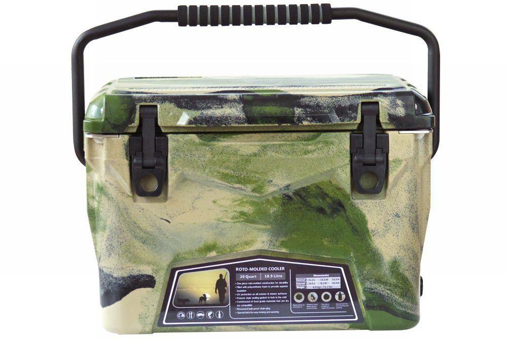 Iceland Cooler Box/アイスランドクーラーボックス グリーンカモ 20qt/18.9L 【日本正規品】