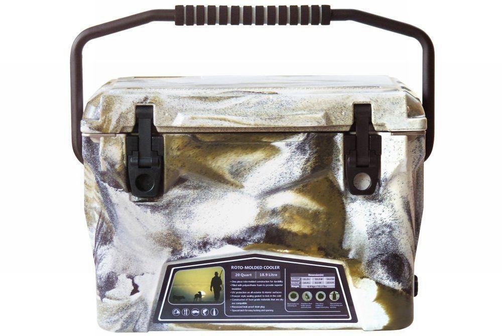 Iceland Cooler Box/アイスランドクーラーボックス デザートカモ 20qt/18.9L 【日本正規品】