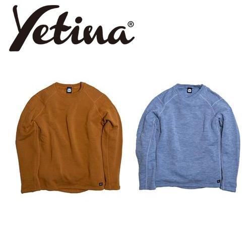 イエティナ Yetina light crew neck