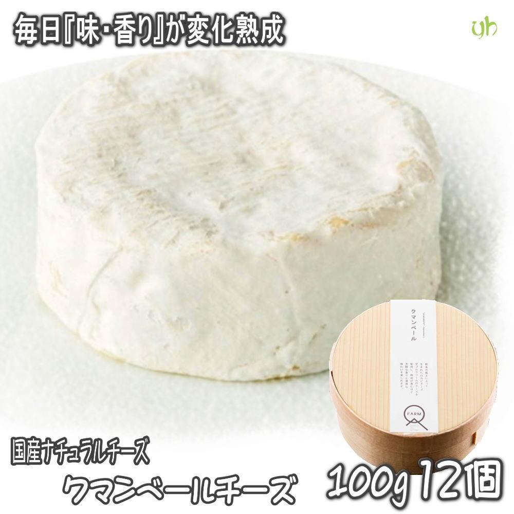 【12個】熊本県産生乳100%使用!!毎日味が変化する熟成するチーズ♪クマンベール150g