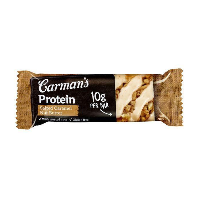 カーマンズ 1Pプロテインバー ソルテッドキャラメルナッツバター 40g 72個セット