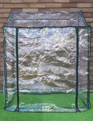 フラワースタンドに被せて使える温室です。 ビニール温室 フラワースタンド用 HS017[g3]【クーポン配布店舗】