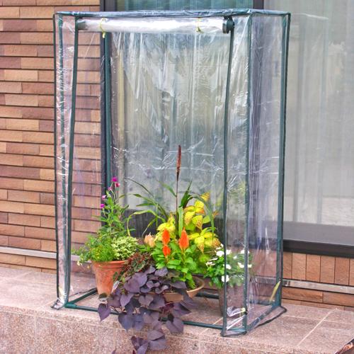 組立て簡単!高さ150センチの温室! 【送料無料】ビニール温室 ロング大きな植物用HS008[g3]【クーポン配布店舗】