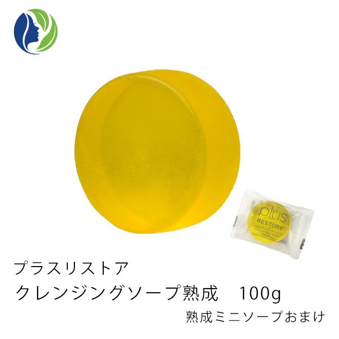 プラスリストア 洗顔 石鹸 〈 乾燥肌 敏感肌 〉 メイク落とし 卸売り 熟成 クレンジングソープ 洗顔料 ミニソープもおまけ 送料無料 が一度で完了 クレンジング 人気急上昇