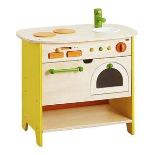 知育玩具 エドインター(Ed. Inter) 森のあそび道具 森のアイランドキッチン