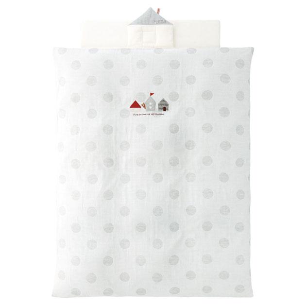 受注生産 ベビー組布団 赤ちゃんの城 未使用 高品質新品 布団5点セット アウトラスト ハウス