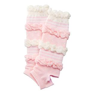 日本正規代理店品 新生児ウエア 赤ちゃんの城 トレンカ 至上 24710 フリフリ ピンク