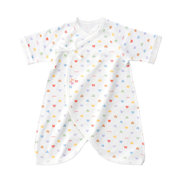 新生児ウエア 新品 赤ちゃんの城 コンビ肌着 冬 スムース ベビーパステル 2020春夏新作