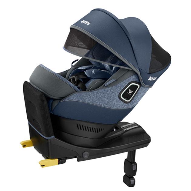 チャイルドシート Aprica Curulira Plus 360° Safety(アップリカ クルリラ プラス 360 セーフティ) ブルーストーン