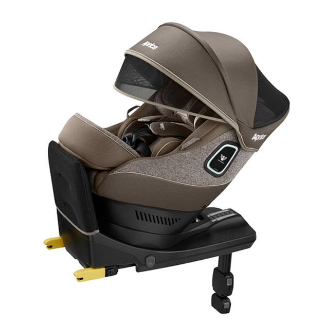 チャイルドシート Aprica Curulira Plus 360° Safety(アップリカ クルリラ プラス 360 セーフティ) ブラウンストーン