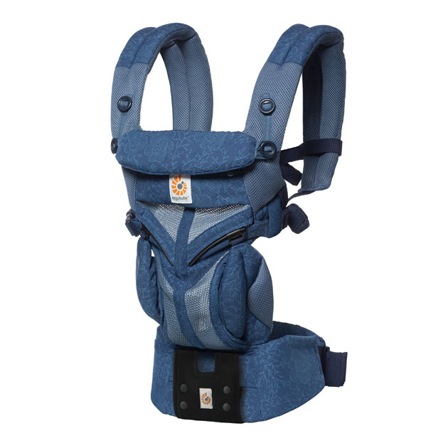 ベビーキャリー(子守帯) ERGObaby OMNI360 COOL AIR(エルゴベビー オムニ クールエアー) ブルーブルーム