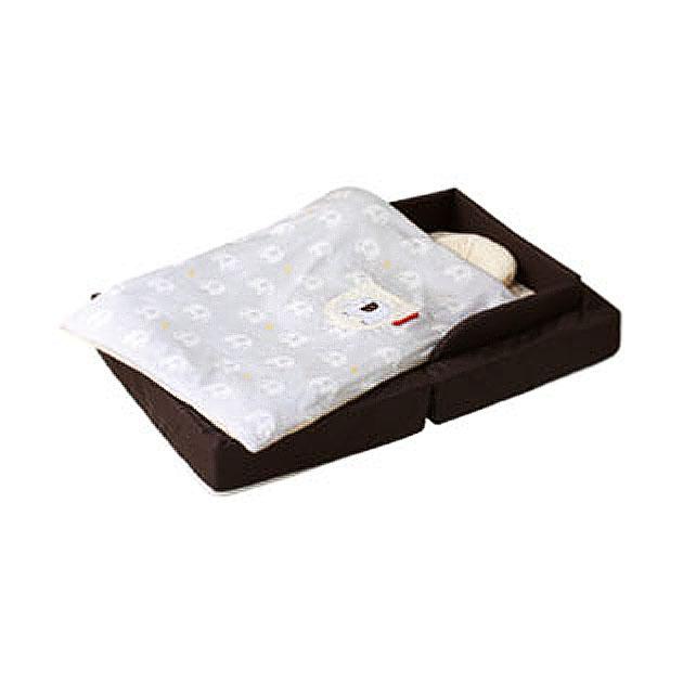 ベビー組布団 farska(ファルスカ) Compact Bed FIT(コンパクトベッドフィット) ブラウン
