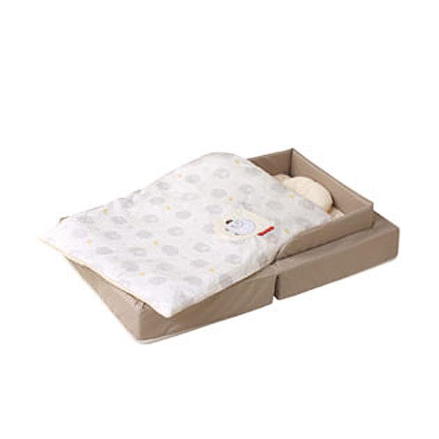 ベビー組布団 farska(ファルスカ) Compact Bed FIT(コンパクトベッドフィット) ベージュ