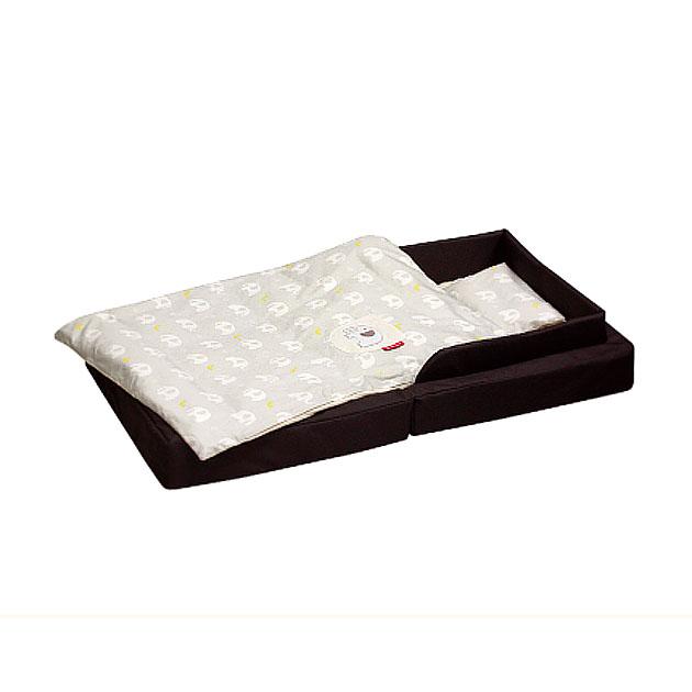 ベビー組布団 farska(ファルスカ) Compact Bed FIT L(コンパクトベッドフィットL) ブラウン