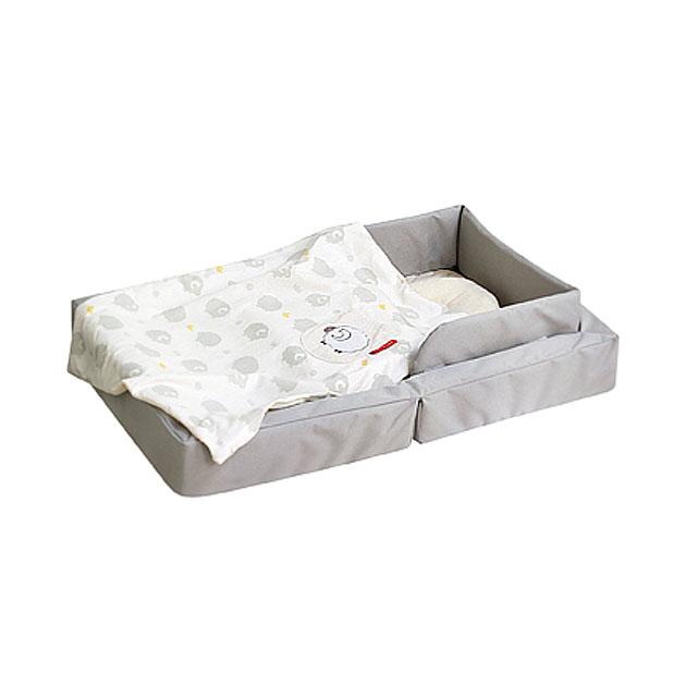 ベビー組布団 farska(ファルスカ) Compact Bed LIGHT(コンパクトベッドライト) グレー