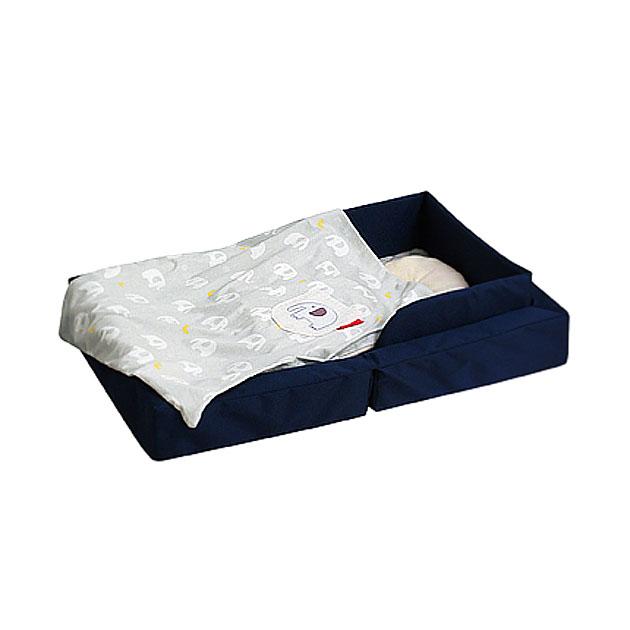ベビー組布団 farska(ファルスカ) Compact Bed LIGHT(コンパクトベッドライト) ネイビー