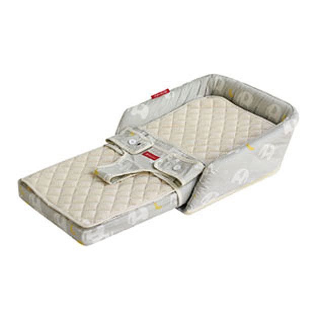 【あす楽対応】寝具小物 farska(ファルスカ) Bed in Bed FLex(ベッドインベッドフレックス) エレファント&バナナ