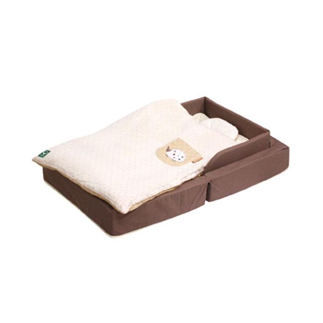 ベビー組布団 farska Compact Bed FIT(ファルスカ コンパクトベッドフィット) オーガニックモカ