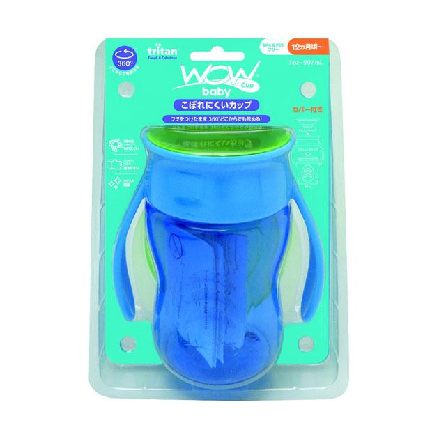 <title>ベビー食器 ビリーブ エジソンママのWOW CUP Baby ブルー 買物</title>