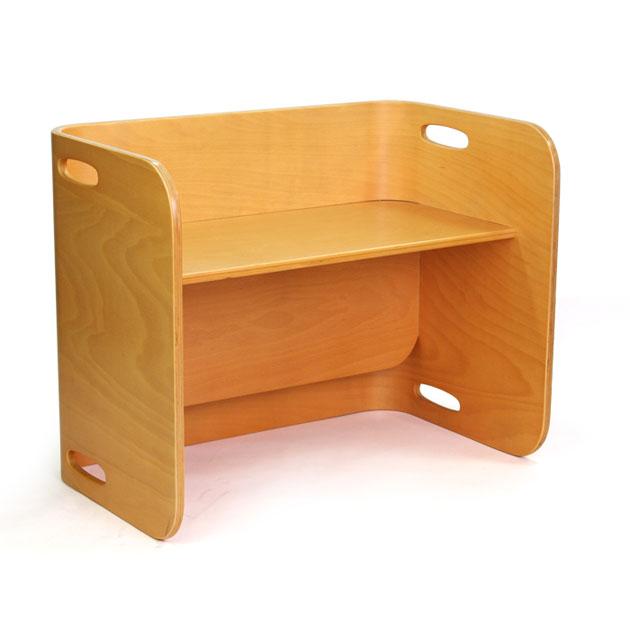 ベビー家具 HOPPL(ホップル) コロコロ デスク(ColoColo Desk) ナチュラル