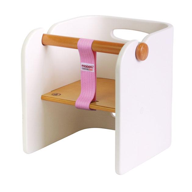 ベビー家具 HOPPL(ホップル) コロコロ ベビーチェア(ColoColo BabyChair) ホワイト