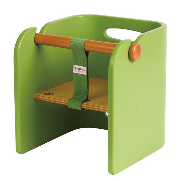 ベビー家具 HOPPL(ホップル) コロコロ ベビーチェア(ColoColo BabyChair) グリーン