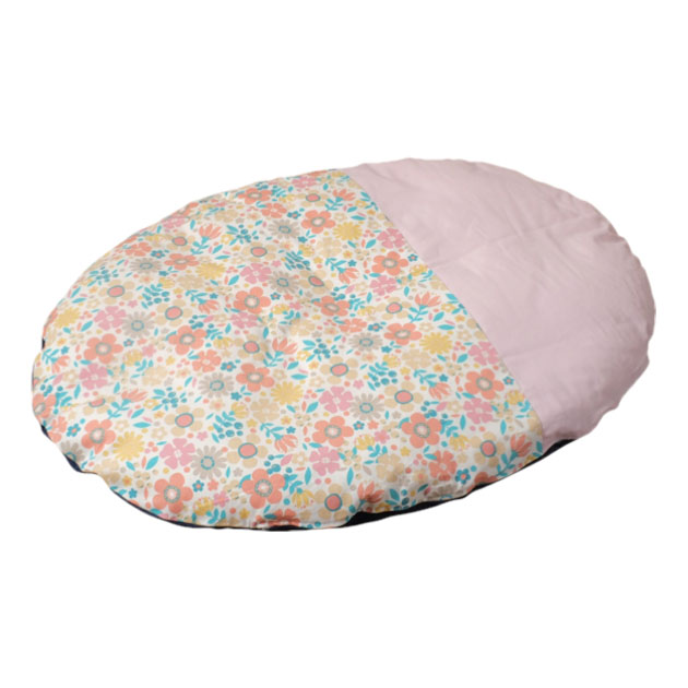 ベビー寝具 笹屋 naps inemuri いねむりふとん レギュラーふとん+カバー エルガーデン ピンク