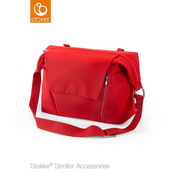 ベビーカーオプション Stokke Changing Bag(ストッケ チェンジングバッグ) レッド