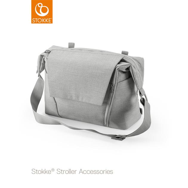 ベビーカーオプション Stokke Changing Bag(ストッケ チェンジングバッグ) グレーメラーンジ