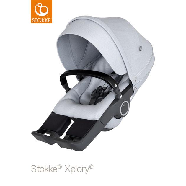 ベビーカー Stokke Xplory V6(ストッケ エクスプローリー) クラシックシート グレーメラーンジ