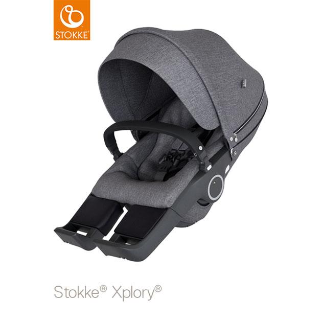 ベビーカー Stokke Xplory V6(ストッケ エクスプローリー) クラシックシート ブラックメラーンジ