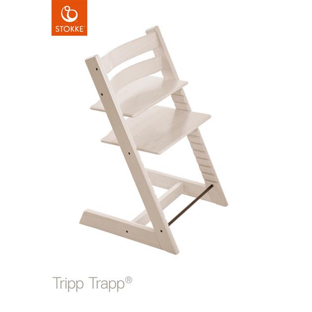 【あす楽対応】ベビーチェア Stokke Tripp Trapp(ストッケ トリップ トラップ) チェア本体 ホワイトウォッシュ
