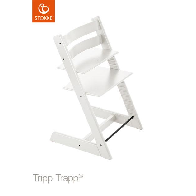 ベビーチェア Stokke Tripp Trapp(ストッケ トリップ トラップ) チェア本体 ホワイト