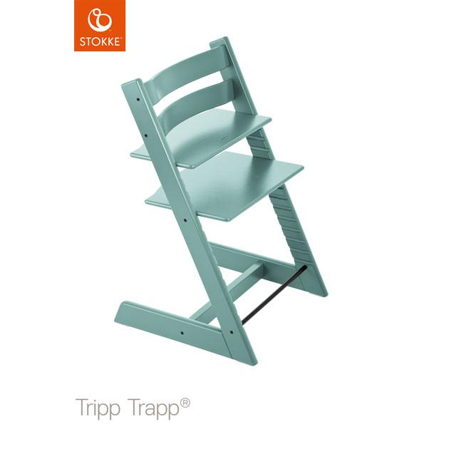 ベビーチェア Stokke Tripp Trapp(ストッケ トリップ トラップ) チェア本体 アクアブルー