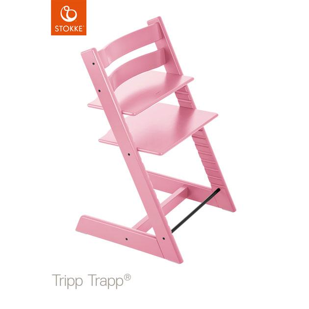 ベビーチェア Stokke Tripp Trapp(ストッケ トリップ トラップ) チェア本体 ソフトピンク