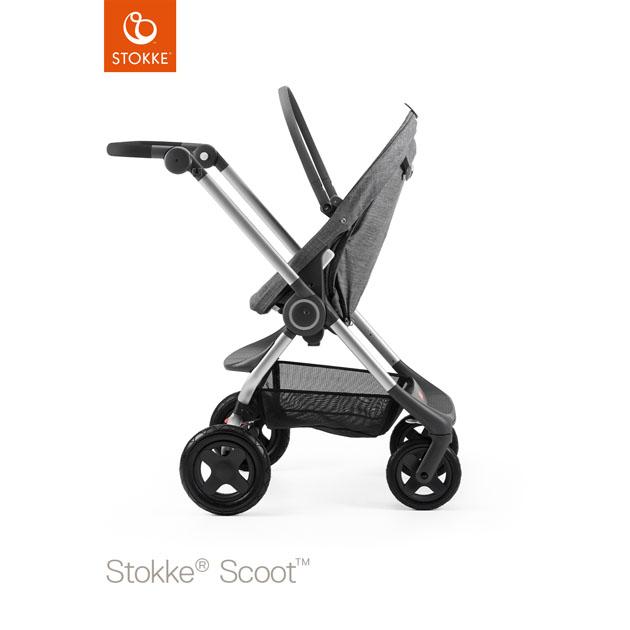 ベビーカー Stokke Scoot(ストッケ スクート2) ベーシックキット ブラックメラーンジ