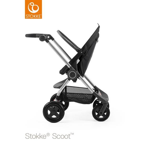 ベビーカー Stokke Scoot(ストッケ スクート2) ベーシックキット ブラック