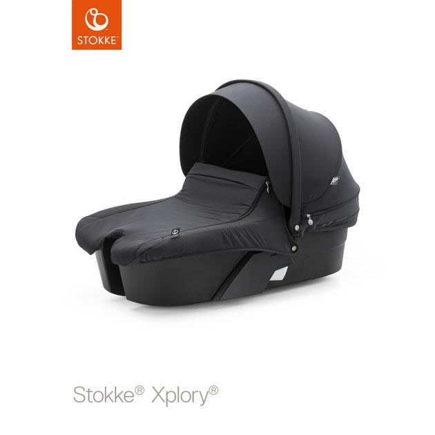 ベビーカー Stokke Xplory Black Carry Cot Black(ストッケ エクスプローリー ブラック キャリーコットブラック) ブラック