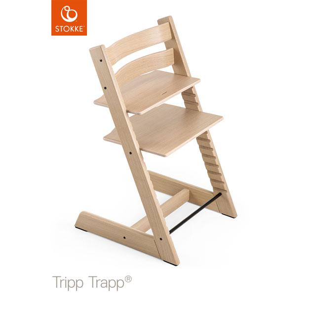 【あす楽対応】ベビーチェア Stokke Tripp Trapp Oak(ストッケ トリップ トラップ オーク) チェア本体 ナチュラル