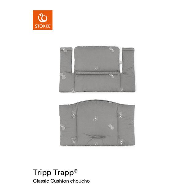 ベビーチェアオプション Stokke Tripp Trapp Classic Cushion [mina perhonen Collection](ストッケ トリップ トラップ クラシック クッション ミナ ペルホネン コレクション)撥水 チョウチョ