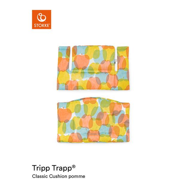 ベビーチェアオプション Stokke Tripp Trapp Classic Cushion [mina perhonen Collection](ストッケ トリップ トラップ クラシック クッション ミナ ペルホネン コレクション) ポム