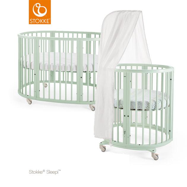 ベビーベッド Stokke Sleepi Bed Set Mint Green(ストッケ スリーピーベッドセット ミントグリーン)