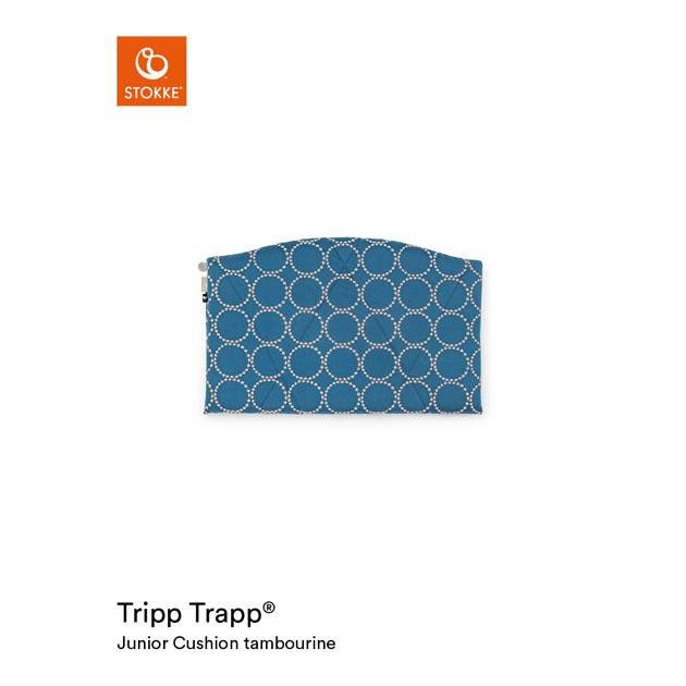 ベビーチェアオプション Stokke Tripp Trapp Junior Cushion [mina perhonen Collection](ストッケ トリップ トラップ ジュニアクッション ミナ ペルホネン コレクション) タンバリン